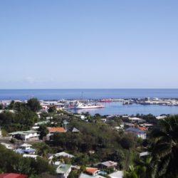 vue rade de Papeete