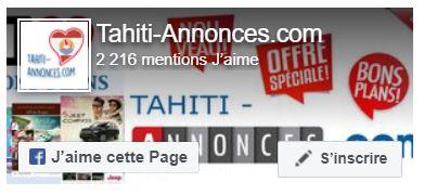 Tahiti-Annonces Facebook